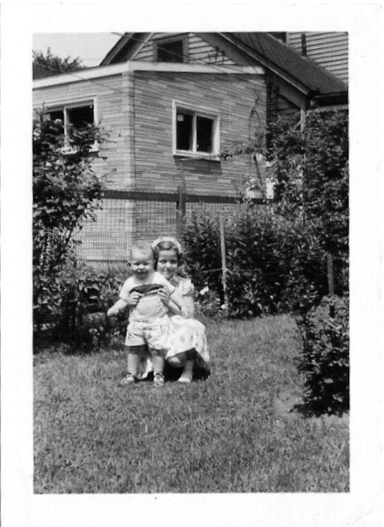 Louise Loslo and nephew