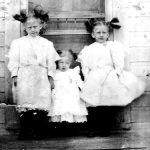 Mabel Grace Taylor, Elizabeth Taylor and Virginia Taylor of Carter County, KY.