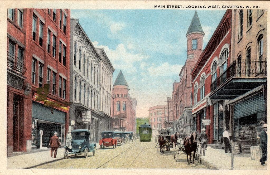 Main Street, Grafton, WV