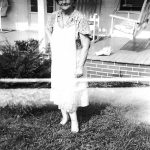 Mary Williams Baily of Denton, KY.  Daughter of Nellie Taylor Williams.
