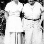 Maude Ward and Rose Ghiz