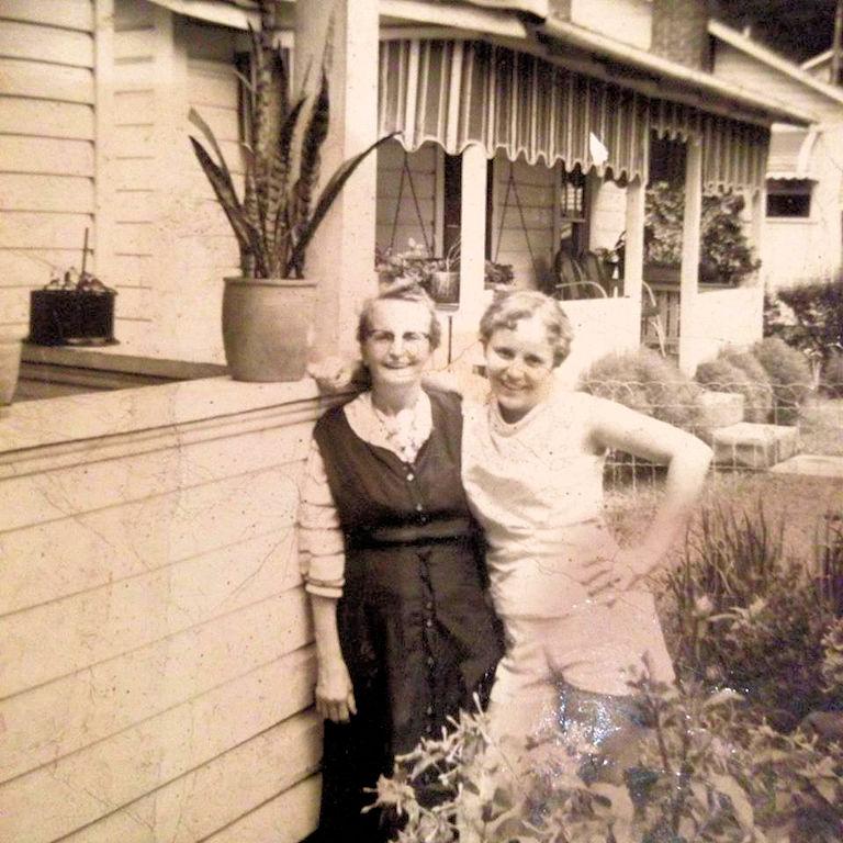 McConnell, WV - Hattie Ferguson and daughter, Nancy Ferguson