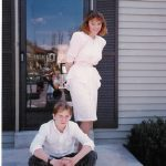 Michelle McCormack and Robb McCormack in front of their home at 19333 Hottinger Circle, Germantown, MD.