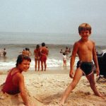 MIchelle McCormack and Robb McCormack at Rehoboth Beach, DE.