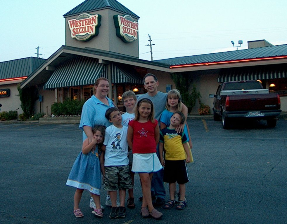 Michelle McCormack Florimbio with Children and Dad, Robert McCormack.
