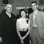 Mid 1950s -  Grover Combs, unknown lady, Ed Baldwin. Courtesy of Ralph Baldwin