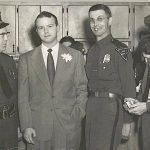 Mid 1950s - Otto Mann, last name Daniels, Ed Baldwin, last name  Grimmett courtesy of Ralph Baldwin