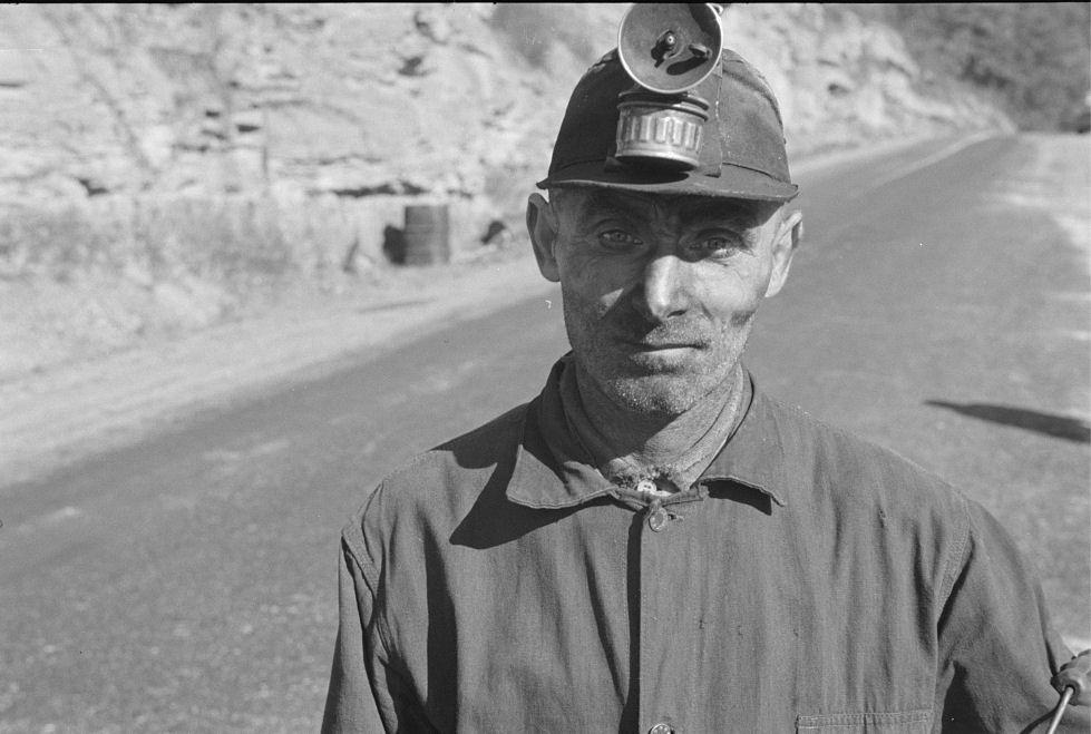21 - Miner, Freeze Fork WV Oct 1935