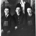 Some members of the 1920 Monaville basketball team