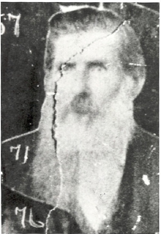 Nelson Burchett, Rev. at  Carter County, KY. Husband of Clarinda McCormack, daughter of William and Lucinda McCormack.