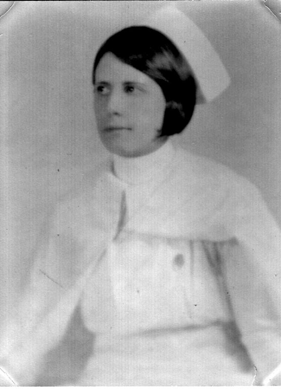 Margaret Arlene McCormack upon finished her nursing program in Huntington, WV.