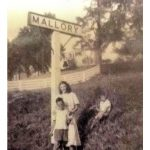 The old Mallory Railroad Sign