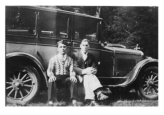 Paul Tarkany and George Steele
