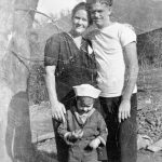 Pearl, Willie (boy) and Elmer McNeely at Phico, WV courtesy Ralph McNeely