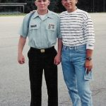 Robb McCormack and Robert McCormack at Randolph Military Academy in VA during parents weekend.
