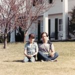 Robb McCormack and Robert McCormack at their home, Westwind Farm, at Mt. Airy, MD.