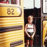 Robb McCormack on his first day of school in Frederick County, MD.