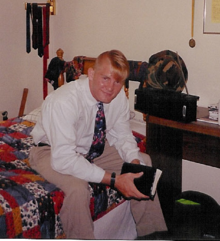 Robb McCormack his his room at Hottinger Circle, Germantown, MD