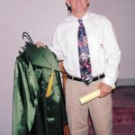 Robb McCormack on graduation day from Seneca Valley High School in Germantown, MD.