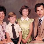 Robert McCormack Family taken in 1981 for First Church of the Nazarene directory.