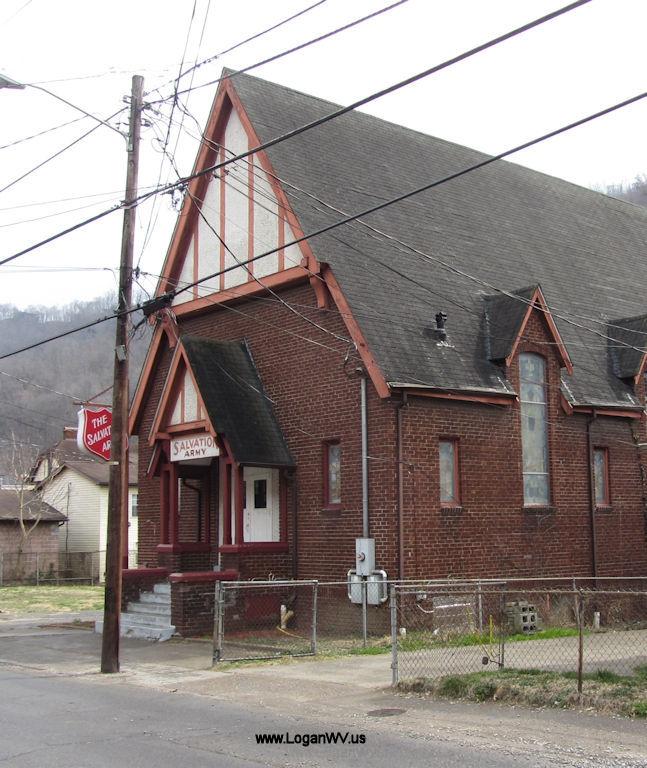 Salvation Army, 544 Stratton Street, Logan, WV.