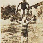 Tug River at Kermit, WV ca. 1925.