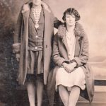 Mary Chittum and  Bessie (Chittum) Thompson
