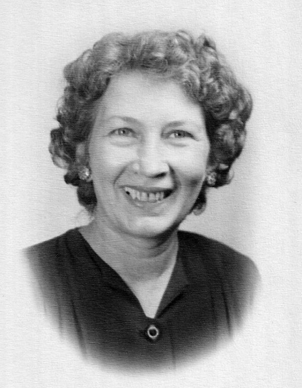 Virginia McCormack - J B Ellis School 1952