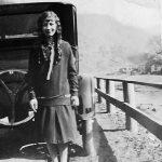 Virginia Taylor, senior at Logan High School taken Mar 21 1926.