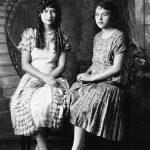 Virginia Taylor and Elizabeth Taylor taken in 1925.