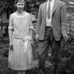 Virginia Taylor and her boy friend, Lacy Howe taken in 1924.