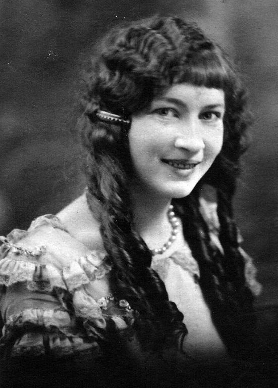 "Virginia Taylor, senior picture at Logan High School, Logan, WV . Virginia. Nickname in her years book is ""Curls."""