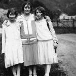 Virginia Taylor, Lula Taylor and Elizabeth Taylor taken in 1927