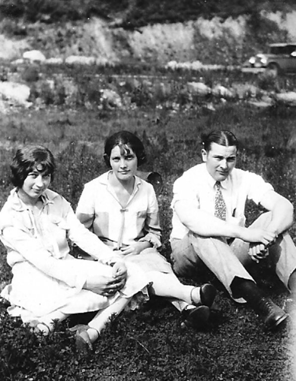 Virginia Taylor, Lula Taylor and Johnny Jones taken in 1927.