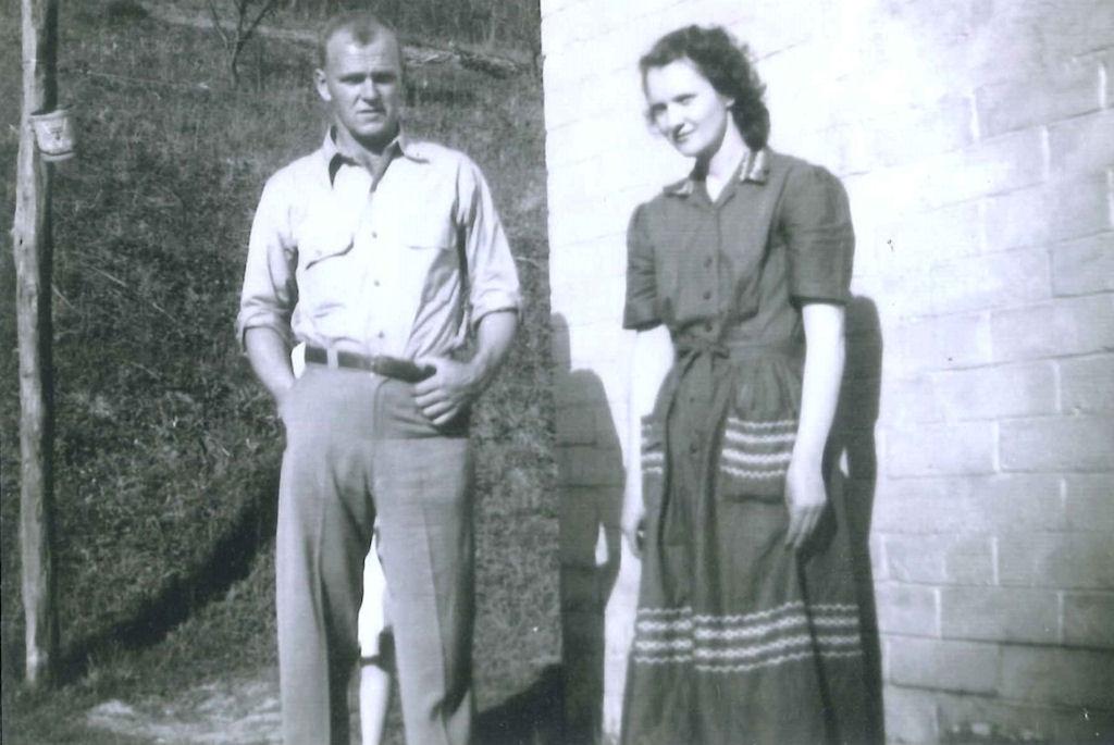Woodrow Maynard and Muriel Adams Maynard