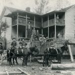 1906 Family at Cham on Rum Creek, W. Va.
