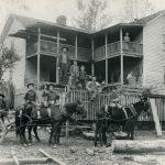 1906 Family at Cham on Rum Creek, W. Va.