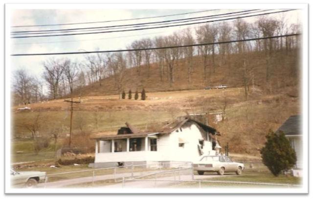 Frye home at Mud Fork, Logan County, WV