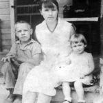 Woodrow, Bessie and Betty Thompson