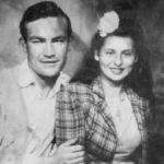 Brady and Betty Petroff Thompson in 1944