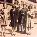 Loretta Vallance, Mary Thompson, Rev. Carl Vallance and wife Laverna, and Helen Thompson of Monaville, WV
