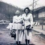 Nina Thompson and Laverne Vallance, Monaville, WV