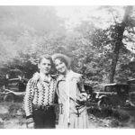 Paul Tarkany and friend 1930, Monaville, WV.