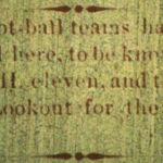 Logan's first football teams, Logan County Banner, 30 March 1893