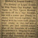 Ragland's History of Logan County