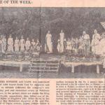 Holden Swimming Pool Dedication May 1941.