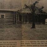 Hugh Steele Family home at Switzer, WV