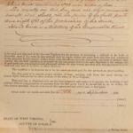 1898 Railroad Construction Contract