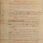 1909 Railroad Construction Contract