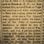 Samuel Cary obituary December 1, 1898.